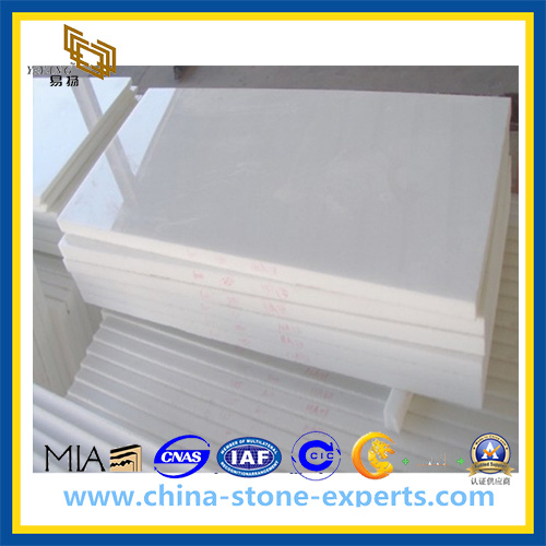 A Grade Pure White Royal White Marble Tiles (YQZ-MT1012) pictures & photos