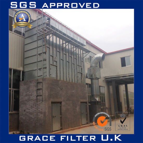 Copper Melting Furnace Dust Extraction System Dust Filtration Dust Collector