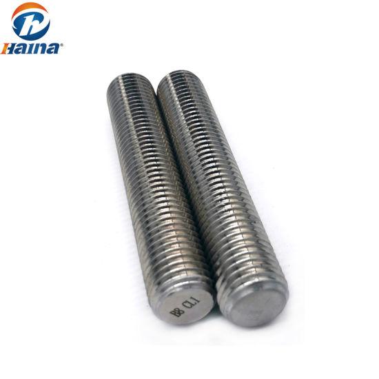 A193 B8m Class 1 Stainless Steel Thread Rod Stud Bolt