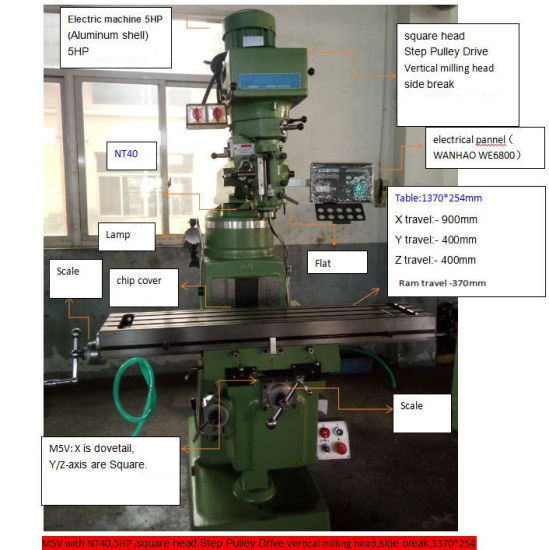 NT30 Draw Bar Milling Machine Part