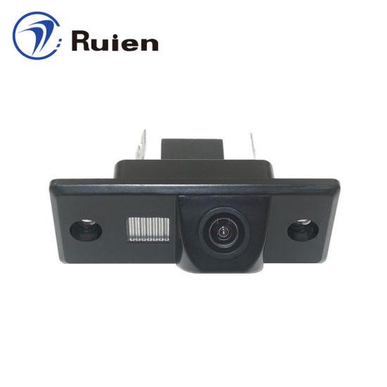 Wholesale Waterproof Factory Driect License Plate Light Camera/HD Reversing Camera/Parking Camera for Volkswagen Tiguan Model