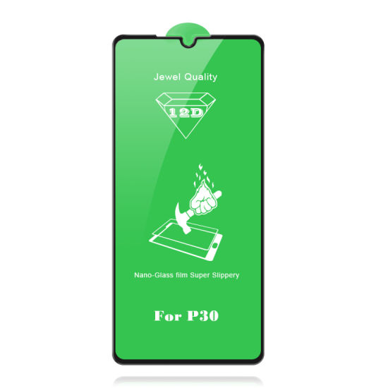12D Jewel Nan-Glass Film/Tempered Glass for Huawei P30