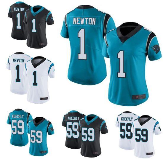 OEM Cam Newton Luke Kuechly Panthers Limited Polyester Football Jerseys