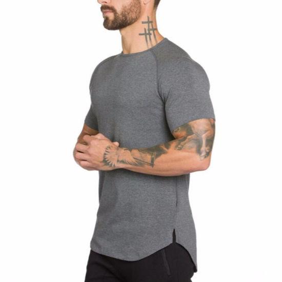 Custom Sports Gym Tee Manufacturer Wholesale OEM Dry Fit Sportswear T-Shirt