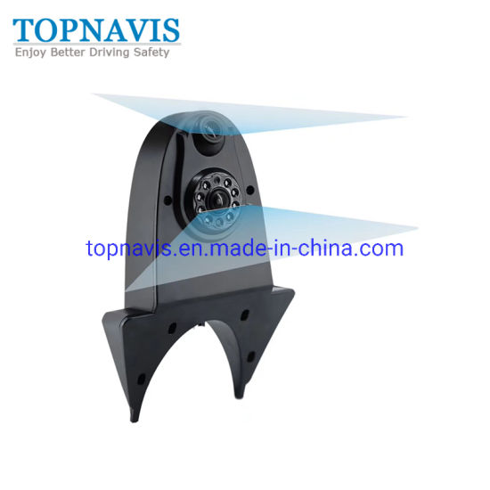 Universal Dual Lens Rear View Camera for Minivan and Bus