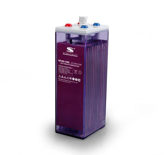 Deep Cycle Flooded Lead Acid Solar Battery 2V 1200ah Opzs Battery