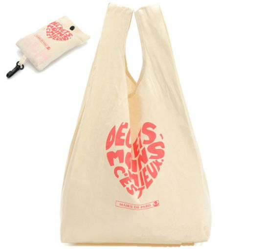 Eco Cotton Folding Shopping Bag