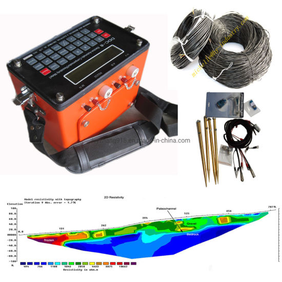 Geophysical Ves Resistivity Meter, Underground Water Detection, Ground Water Finder, Resistivity Survey for Underground Water Vertical Electrical Sounding