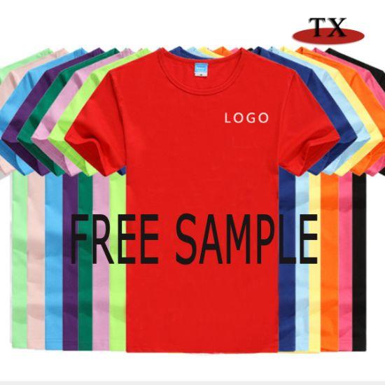 Customized Logo Cotton Printing Promotion Clothing T-Shirt