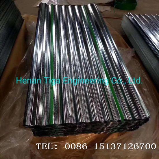 22 Gauge Dx51d Zinc180g Zinc Coated Galvanized Roofing Corrugated Iron