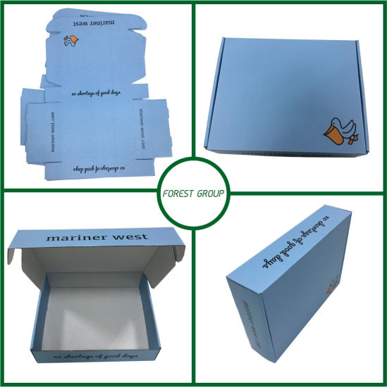 Design Paper Box with White Kraft Paper Inside pictures & photos