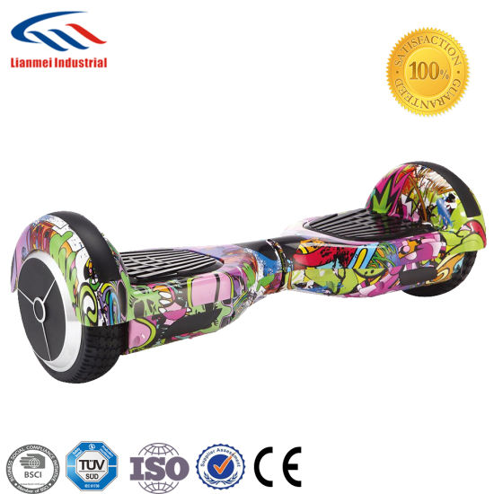 Custom Bluetooth Two Wheels 6.5inch Hoverboard Scooter with LED Lights pictures & photos