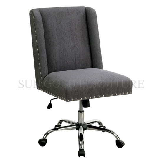Good Quality Chair PU Leather with Swivel Bese (SZ-OCK11) pictures & photos