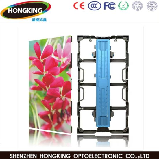 Indoor High Refreshing Rate Nationstar SMD P3.91 Full Color LED Video Wall