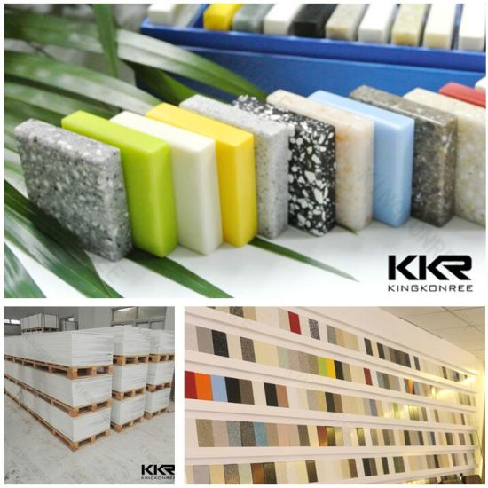 Building Material 12mm Sheets Corian Acrylic Solid Surface pictures & photos