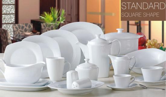 Standard Square Cheap Bulk Dinner Plate New Bone China & Standard Square Cheap Bulk Dinner Plate New Bone China - Bone China ...