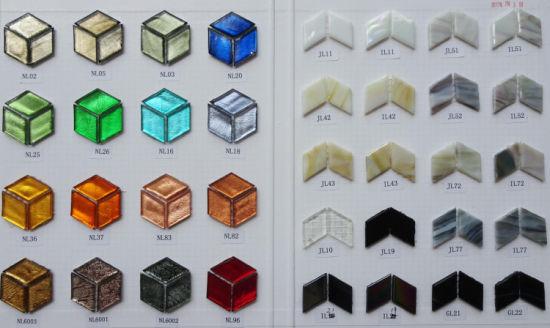 China Rhombus Mosaic Art Kit Wall Tile - China Swimming Pool, Glass ...