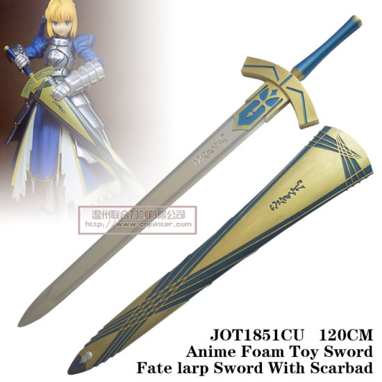 China Anime Foam Toy Sword Fate Larp Sword with No Scabard