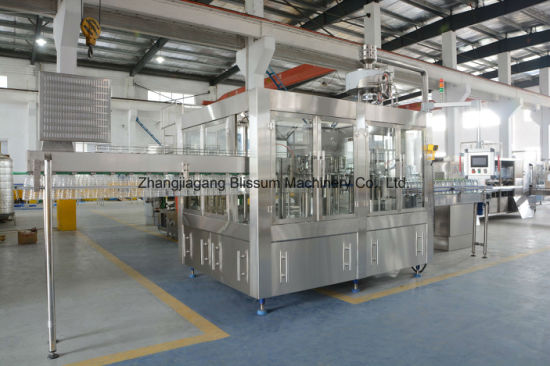 Automatic 6000bph Water Filling Packing Machine