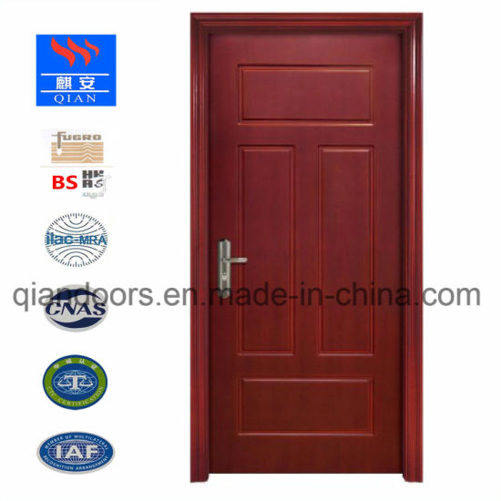 2018 Fireproof Interior Wood Door Residential Apartment Fire Rated
