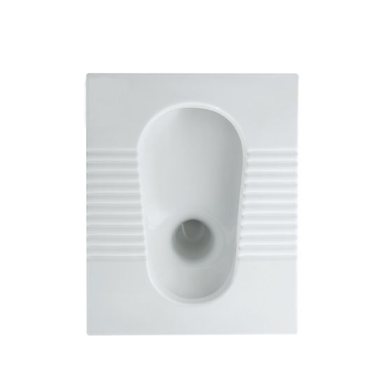 High Quality Ceramic Sanitaryware Squat Toilet Pan (SY-026)
