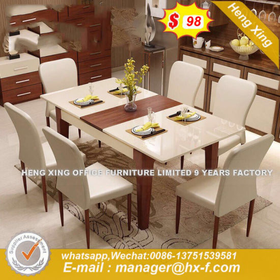 Modern Style Natural Rosin Replica Vintage Dining Table (HX-8ND003) pictures & photos