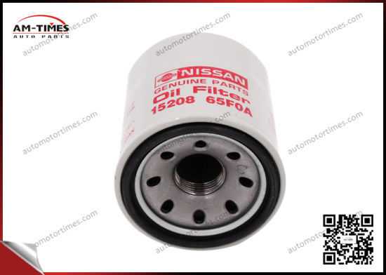 China 15208-65f0a Auto Engine Vehicle Oil Filter pictures & photos
