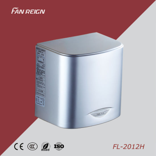 High Speed Automatic Hand Dryer Jet Air Hand Dryer Silver Cover