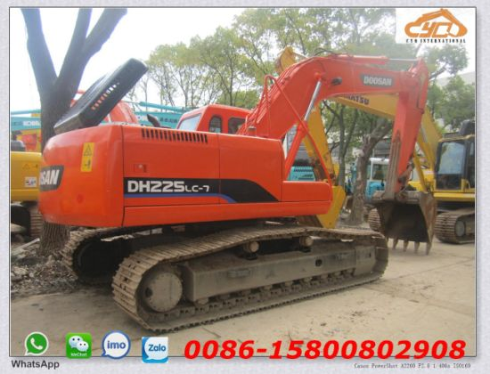 China Used Daewoo Dh225LC-7 Excavator Doosan 225 Doosan 220 ...