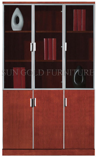 New Wood Design The Bookshelf Executive Storage Office Filing Cabinet (SZ-FCT601) pictures & photos