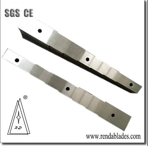 Rd Hmc/Hmb Double Side Trim Shear Blade/Knife Series of 5200 Thick Steel Sheet Metal Scrap Production Line