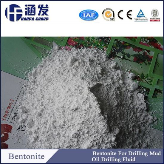 Bentonite Used in Water Based Well Drilling Mud pictures & photos