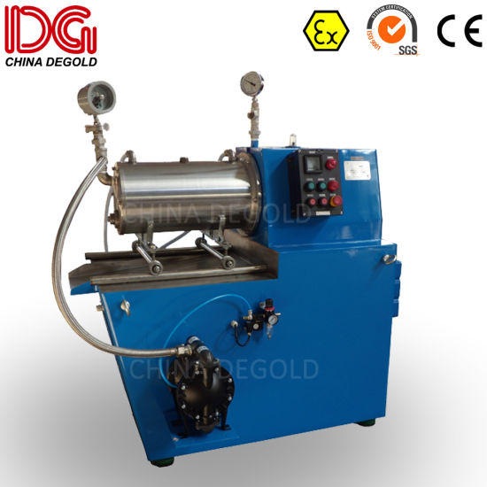 Small Scale Horizontal Bead Mill for Solvent Paint pictures & photos