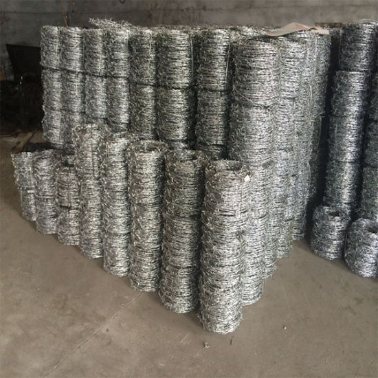 Free Samples China Factory Direct Sales Hot Dipped Galvanized Barbed Wire pictures & photos