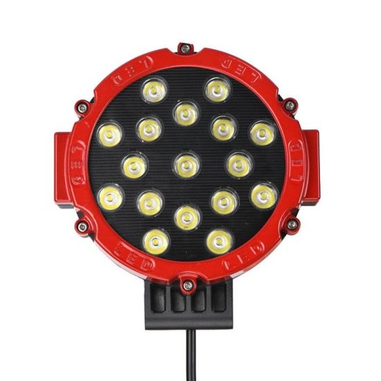 Red Color IP67 Waterproof 51W 3700lm LED Car LED Work Light Auto Part, LED Flexible Magnetic Work Light pictures & photos