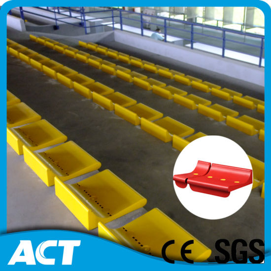 Plastic Soccer Seat with Low Backrest