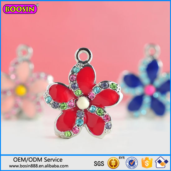 Factory Price High Quality Sun Flower Enamel Pendant From China pictures & photos