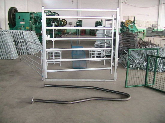 Cheap Corral Ranch 6 Bar Cattle Panel Gate pictures & photos
