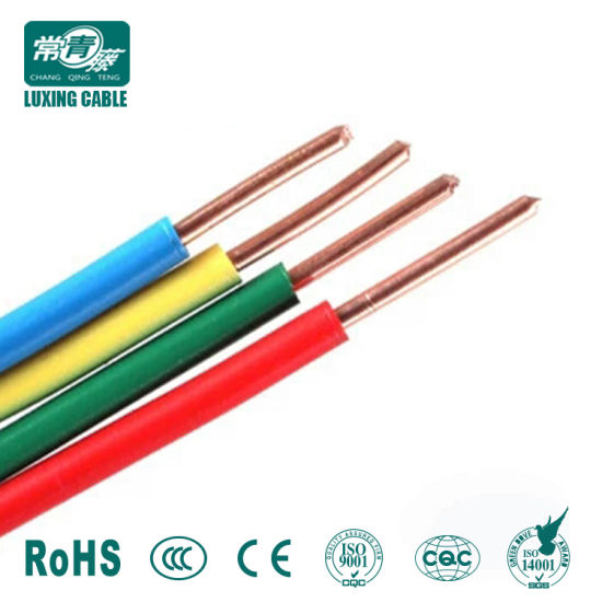 China Household Single Core Cable 10mm Solid Copper PVC Electric ...