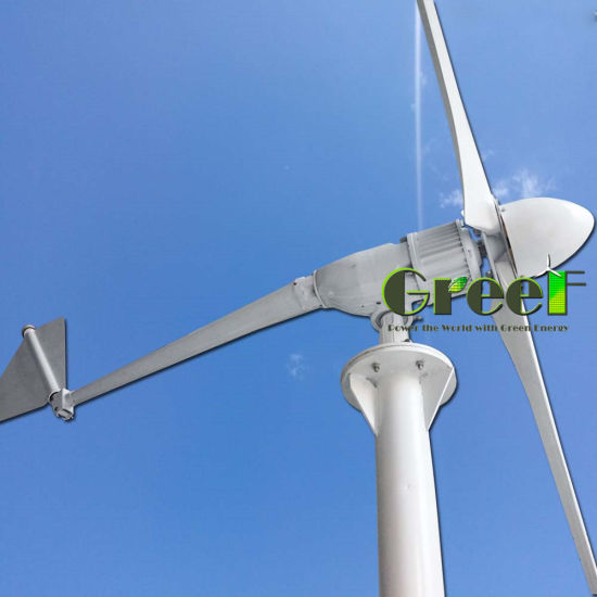 China Low Start Wind Speed 3kw Horizontal Wind Turbine