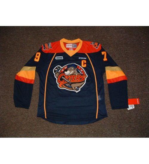 super popular d906b 5f11c Custom Ohl Erie Otters Connor Mcdavid Ice Hockey Jerseys
