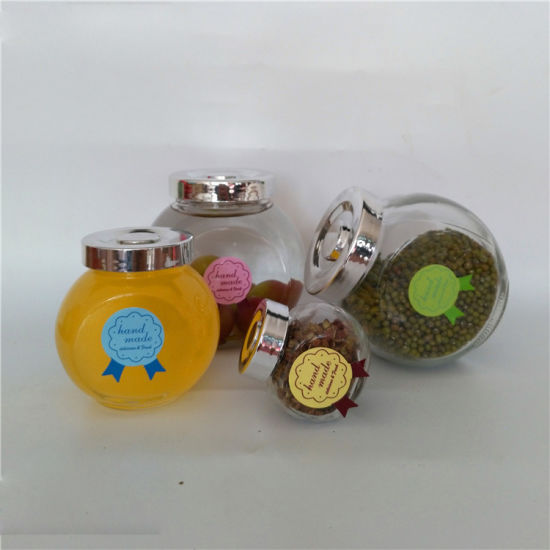 Personality Flat Design Glass Jar for Seasoning and Food Storage pictures & photos