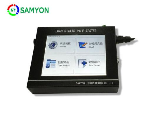 Static Pile Loading Test System