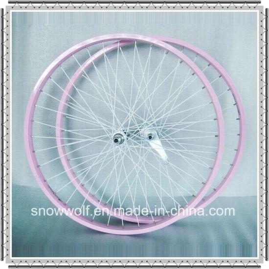 Coaster Brake 26 Inch Bicycle Wheel for Beach Cruiser Bike (AWHS-306)
