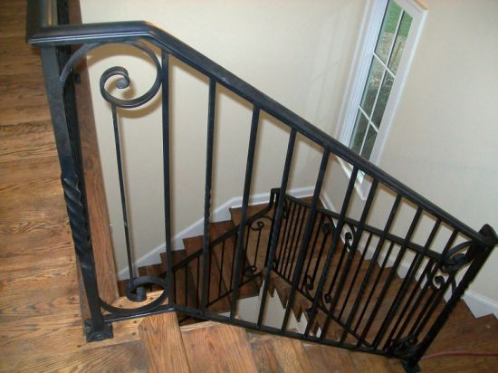 Wholesale Price Wrought Steel Metal Iron Staircase Handrail