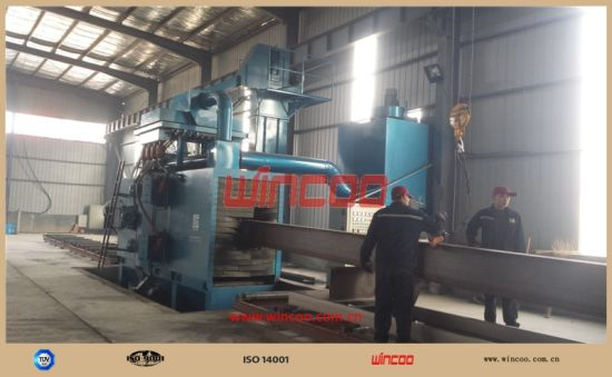 H-Beam Shot Blasting Machine/ High Efficiency Steel Blasting Machine/ Automatic Fabrication Machine/ Steel Structure Blasting Machine pictures & photos