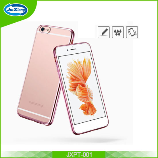 Hot Selling Electroplating TPU Mobile Phone Case for iPhone 6 6s pictures & photos