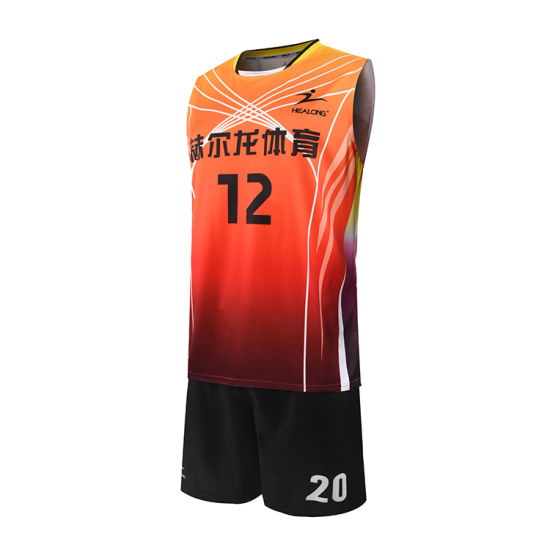 353a76956 Healong Fitness Sports Gear Digital Printing Ladies Volleyball Shirts for  Sale pictures   photos