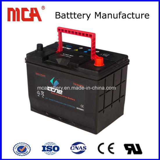 China Best Price 55040 Mf 12v50ah Oem Brand Electric