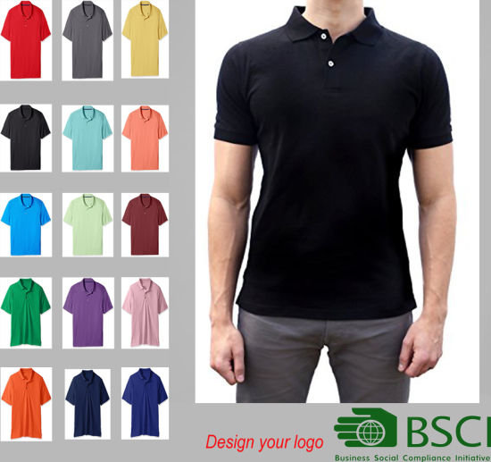 2ff3782b5 Bulk Wholesale Custom Embroidery 100% Cotton Plain Polo Shirt with Private  Label
